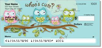 Whoo's Cute Checks