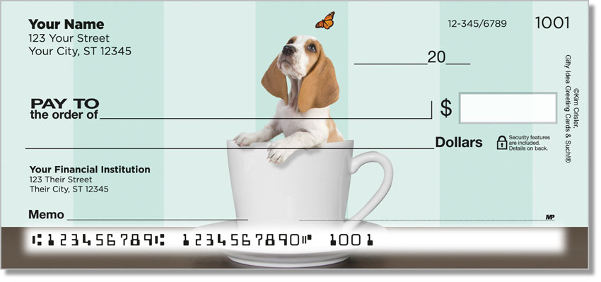 Pups In Cups Checks