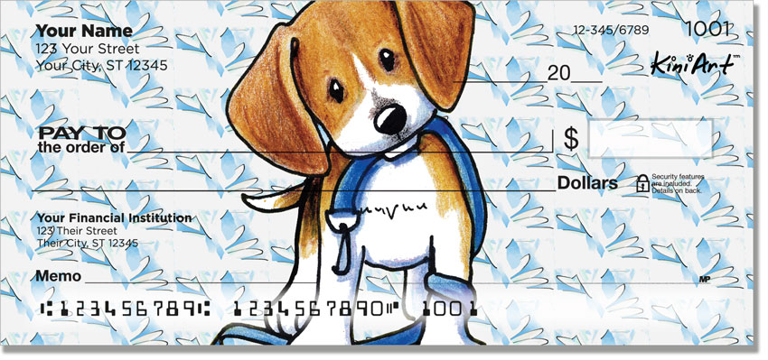 Beagle Art Checks