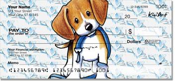 Cartoon Beagle Checks