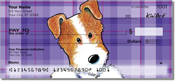 Jack Russell Terrier Cartoon Checks