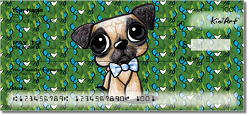 Pugs by KiniArt Personal Checks