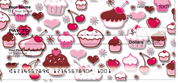 Cupcake Shoppe Checks