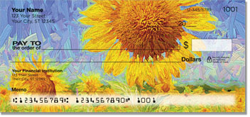 Sunflower Bloom Checks