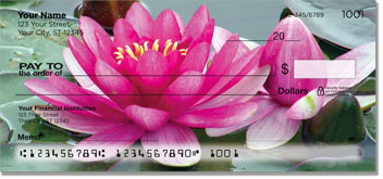 Fragrant Water Lily Checks