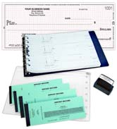 Double Stub Payroll Check Kit