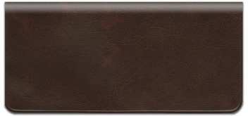 Burgundy Vinyl Checkbook Cover