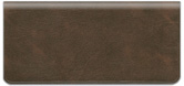 Chocolate Brown Vinyl Checkbook Cover