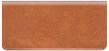Ginger Vinyl Checkbook Cover