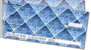 Blue Marble Tile Side Tear Checks
