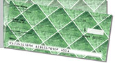 Green Marble Tile Side Tear Checks