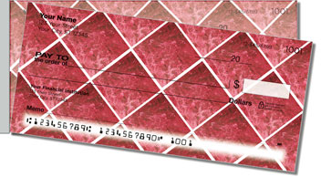 Red Marble Tile Side Tear Checks
