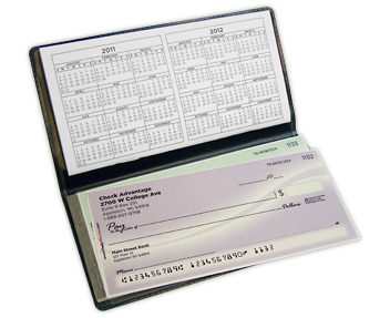 Side Tear Checkbook Cover Converter