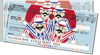 TuneTown Boys Barbershop Quartet Side Tear Checks