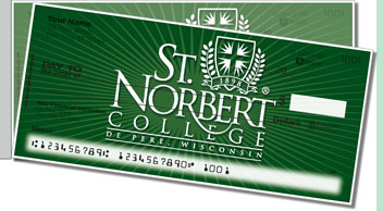 St. Norbert Academic Side Tear Checks