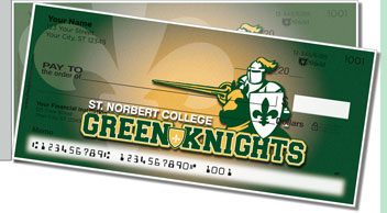 St. Norbert Athletic Side Tear Checks