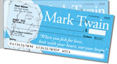 Mark Twain Side Tear Checks