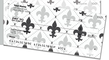 Fleur-de-lis Side Tear Checks
