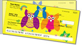 Colorful Owl Side Tear Checks