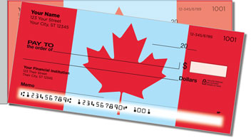 Canadian Pride Side Tear Checks