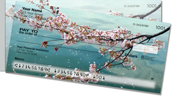 Cherry Blossom Side Tear Checks