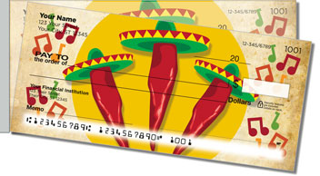Mexican Fiesta Side Tear Checks