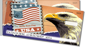 Flag Stamp Side Tear Checks