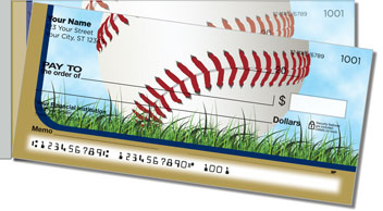 Blue & Gold Baseball Fan Side Tear Checks