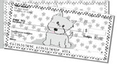 Cute Cat & Dog Side Tear Checks