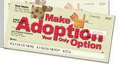 Animal Adoption Side Tear Checks