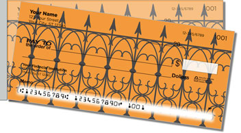 Wrought Iron Fence Side Tear Checks