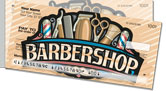 Barbershop Side Tear Checks
