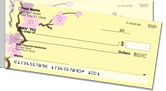 Sakura Print Side Tear Checks