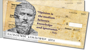 Greek Philosopher Side Tear Checks