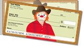 Rodeo Clown Side Tear Checks
