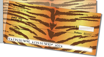 Tiger Stripe Side Tear Checks