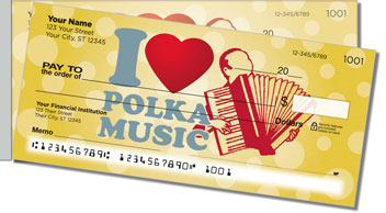 Polka Music Side Tear Checks