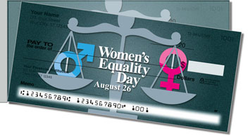 Women's Equality Side Tear Checks