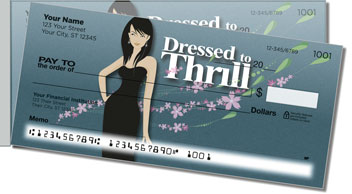 Dressed to Thrill Side Tear Checks