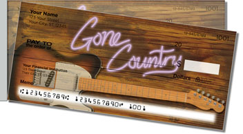 Gone Country Side Tear Checks