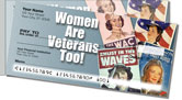 Woman Veteran Side Tear Checks