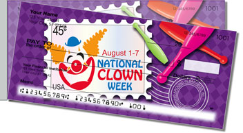National Clown Week Side Tear Checks