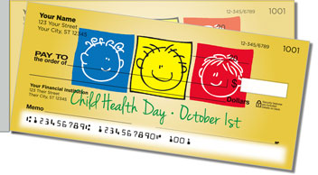 Child Health Day Side Tear Checks