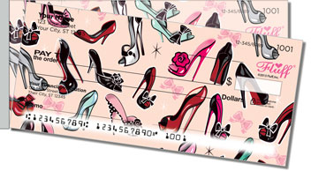 Pinup Shoes Side Tear Checks