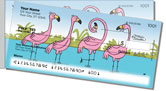 Scrivan Flamingos Side Tear Checks