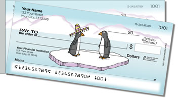 Scrivan Penguins Side Tear Checks