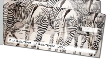 Kay Smith Zebra Side Tear Checks