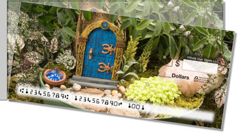 Miniature Fairy Garden Side Tear Checks