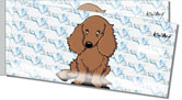 Longhaired Dachshund Side Tear Checks