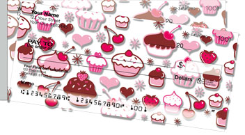 Cupcake Shoppe Side Tear Checks